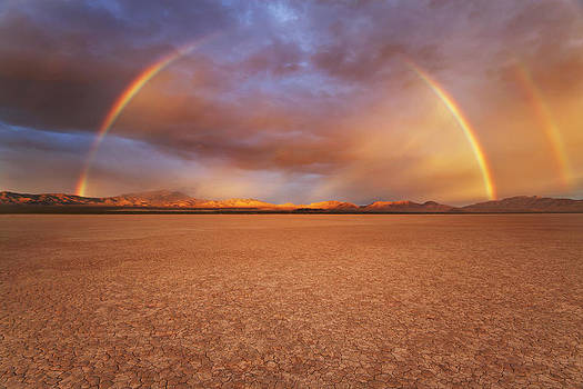 California Desert Rainbow by Chad Ward