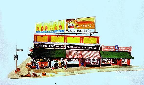 California Fruit Market by William Renzulli