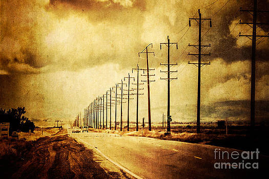 California Highway by Pam Vick