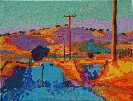 California Hills at Sunset 2 by Thomas Bertram POOLE