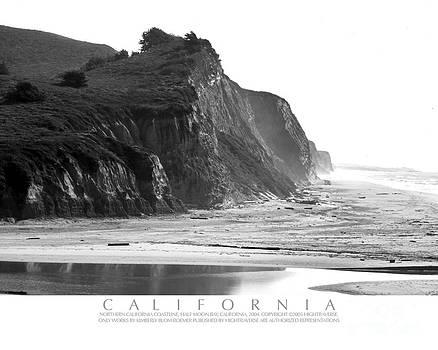 California Ocean Cliffs by Kimberly Blom-Roemer