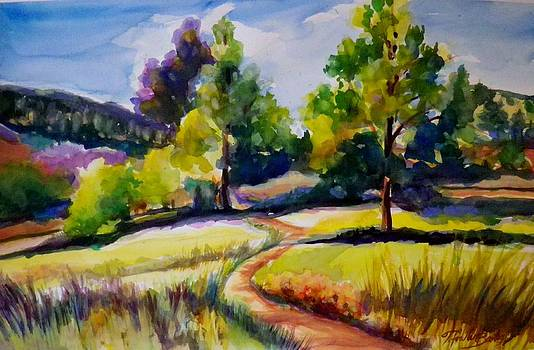 California Plein Air SOLD by Therese Fowler-Bailey