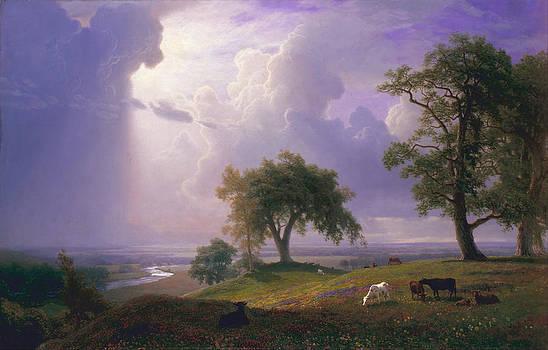 California Spring by Albert Bierstadt