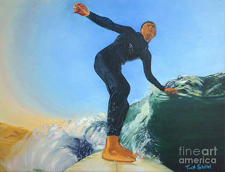 California Surfer by Tina Stoffel