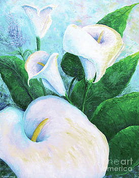 Calla Lilies by Jackie Cleveland
