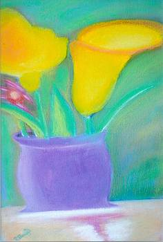 Calla Lilies Supreme by Robert Bray