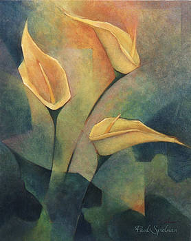 Calla Lilly by Spielarts Prints