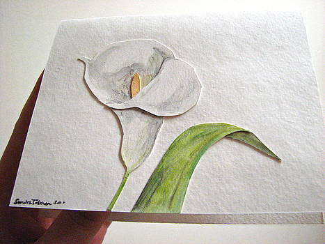 Sandy Tolman - callalilly card - image two