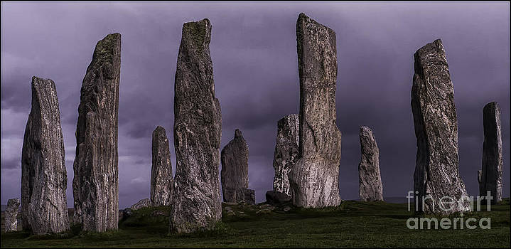 Callanish Stone Circle by George Hodlin
