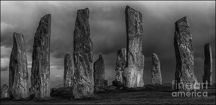 Callanish Stone Circle Mono by George Hodlin