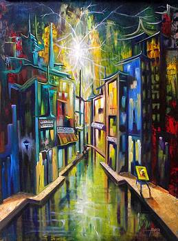Calle del Artista by Alfredo Ocasio