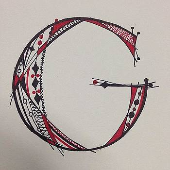 #calligraphy #alphabet by Elena Prikhodko knapp