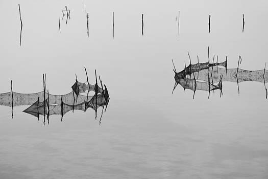 Calm in the lagoon by Mattia Oselladore