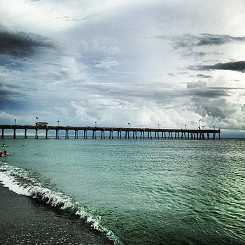 Calm Pier by Justine Prato