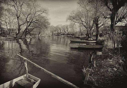 Calm river by Konstantin Gushcha