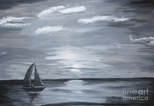 Calm Seas by Haleema Nuredeen