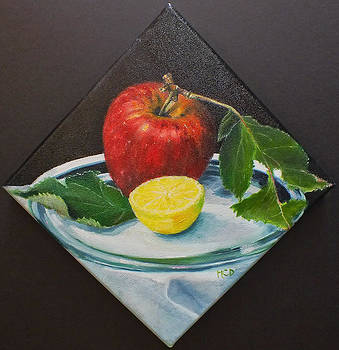 Camano Apple by Marie-Claire Dole