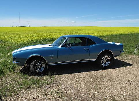 Camaro Countryside by Ryan Jacobson