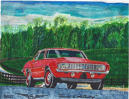 Camaro in the Country by Austin Gemberling