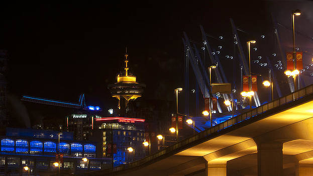 Cambie Bridge  by Dirk Lightheart