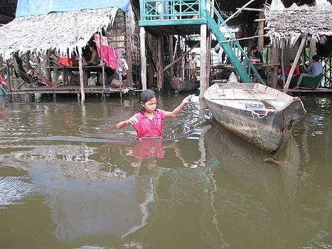 Cambodian Girl by Stefanie Weisman
