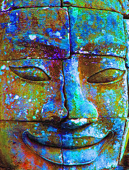 Dennis Cox - Cambodian Temple Face