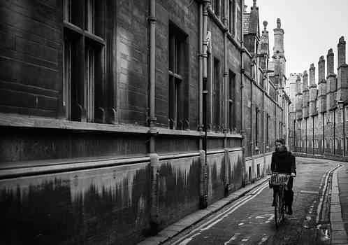Cambridge Cyclist by Neil Buchan-Grant