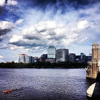 Cambridge To Boston.  #boston #river by J Amadei