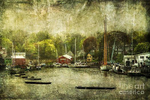 Camden Marina by Barbara Youngleson