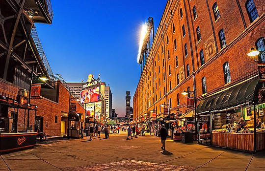 Camden Yards in the Twilight by SCB Captures
