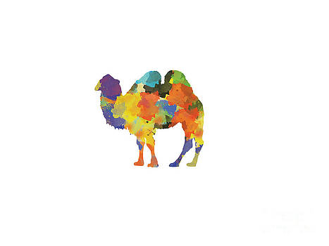 Camel 2 - Silhouette Print by Trilby Cole