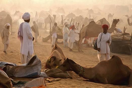 Camel Bazar by Shreeharsha Kulkarni