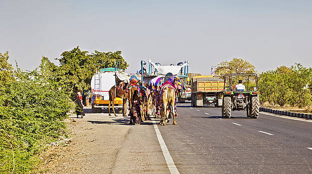 Kantilal Patel - Camel Train Tractor and Trucks India