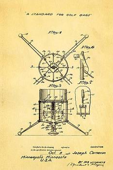 Ian Monk - Cameron Stand Golf Bag Patent Art 1930