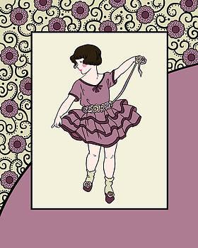 Nancy Lorene - CAMMIE in Rose and Cream