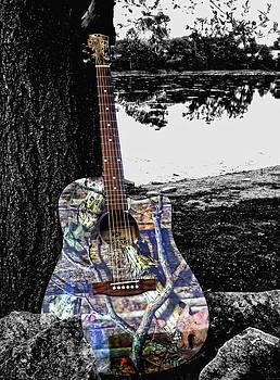 Kristie  Bonnewell - Camo Guitar