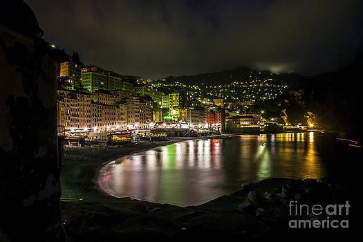 Camogli by night by Stefano Piccini