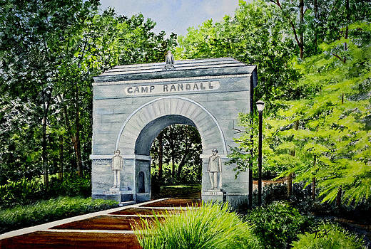 Camp Randall by Thomas Kuchenbecker
