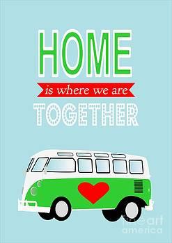 Camper love quote by Patruschka Hetterschij