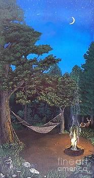 Campfire by Jeremy Reed