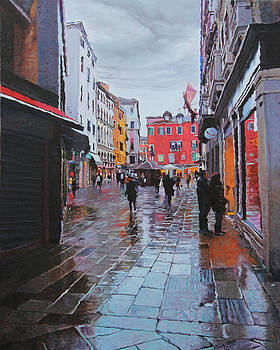 Campo San Bartolomeo by Kenneth Young