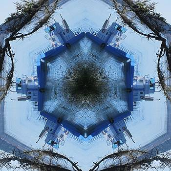 Campobello Island Blue Ferry by Trina Stephenson
