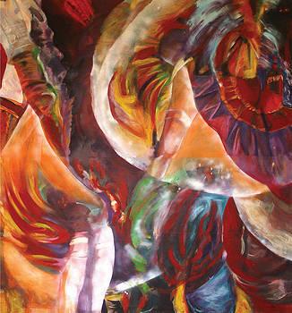 Can-Can Dance by Otilia Gruneantu Scriuba