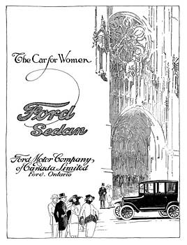 Canada Ford Magazine Advert by The Advertising Archives