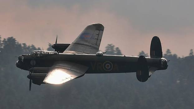 Canadian Avro Lancaster V-RA by James Lucas