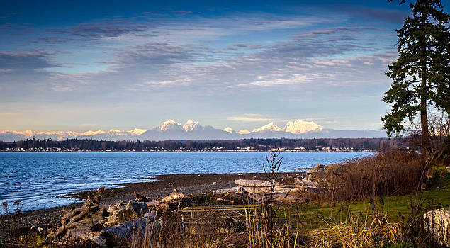 Canadian Mountains view by Blanca Braun