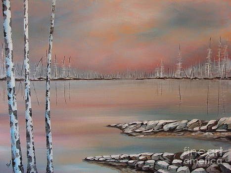 Canadian Northern Reflections by Beverly Livingstone