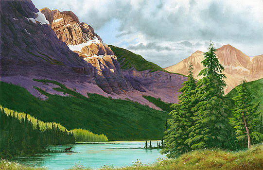 Canadian Rockies by Richard Devine