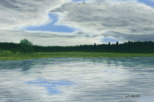 Canadian Serenity by George Burr