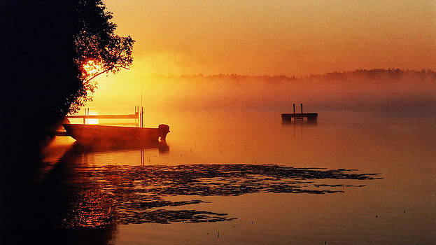 Canadian Sunrise by Nino Via